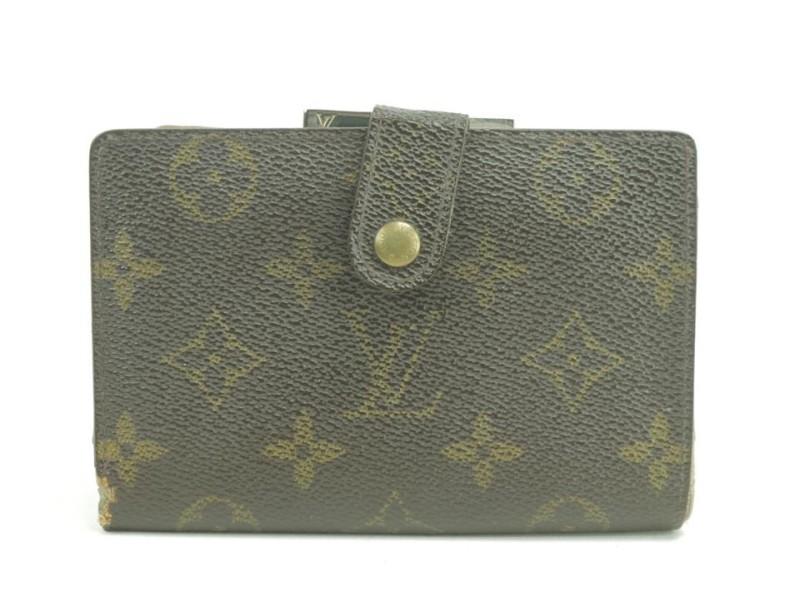 Louis Vuitton 42LK0110 Monogram Porte Viennois Kisslock French Twist Wallet