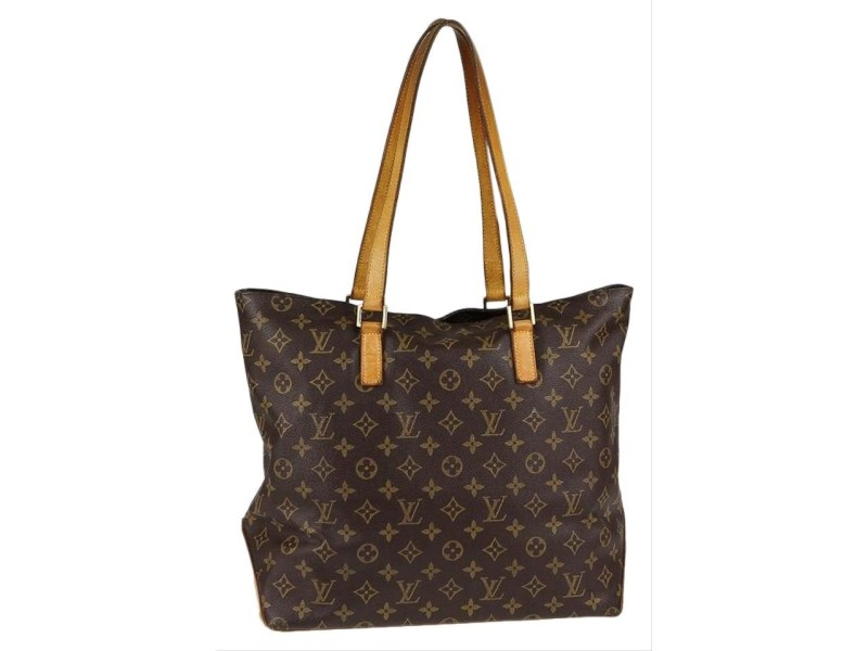 Louis Vuitton Monogram Cabas Mezzo Tote with Zipper 856897
