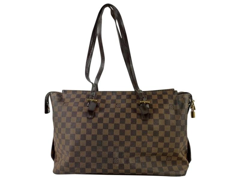 Louis Vuitton Damier Ebene Chelsea Zip Tote 7LVL1127
