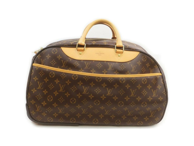 Louis Vuitton Monogram Eole 50 Trolley Duffle Rolling Luggage 863178
