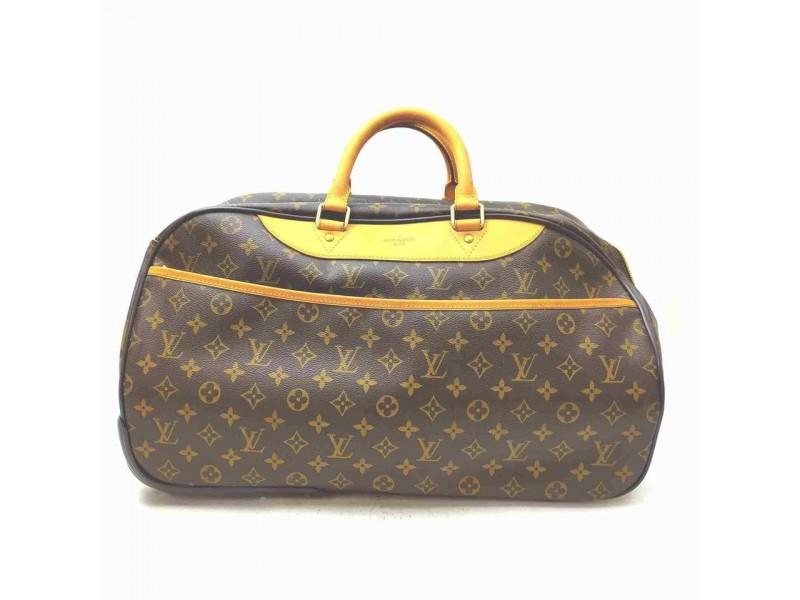 Louis Vuitton Monogram Eole Rolling Luggage Duffle Boston  861302