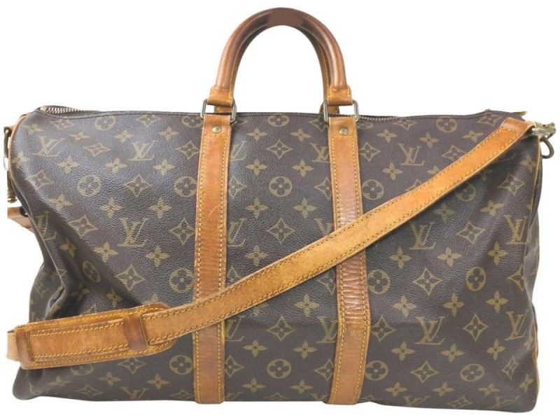 Louis Vuitton Monogram Keepall Bandouliere 45 Duffle Bag with Strap 862591