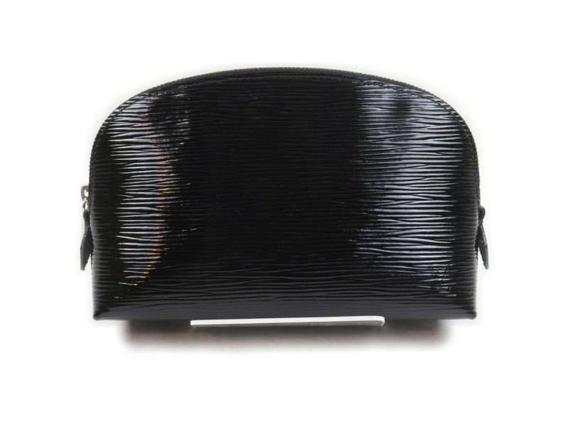 Louis Vuitton Black Epi Electric Cosmetic Pouch Make Up Pochette 862664