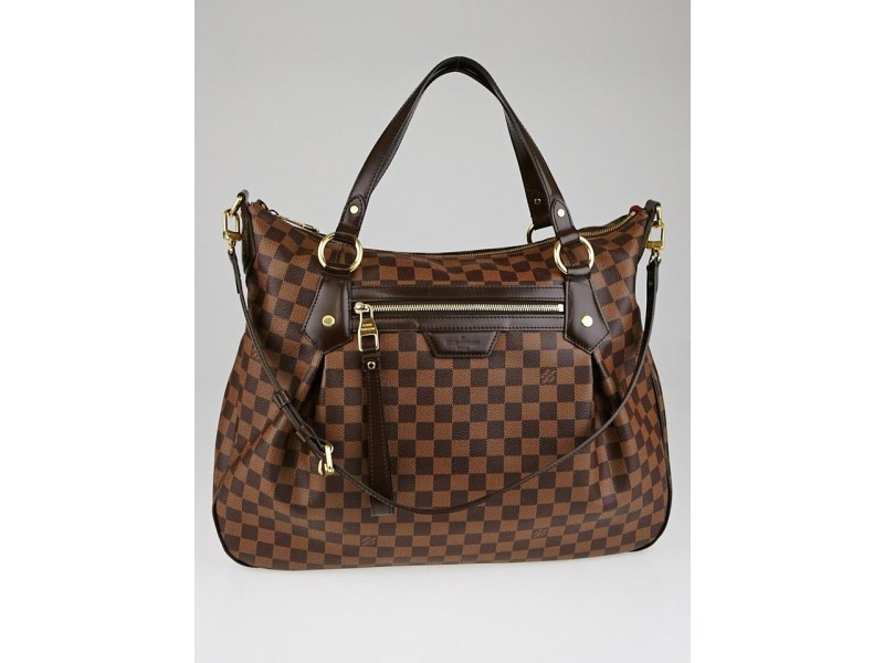 Louis Vuitton Damier Ebene Evora MM 2way Hobo 17LZ1211