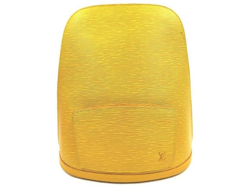 Louis Vuitton Yellow Epi Leather Gobelins Backpack 862494
