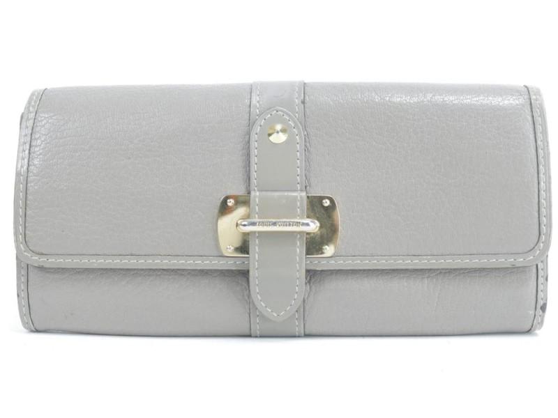 Louis Vuitton 3LK0120 Verone Suhali Leather Bifold Flap Belt Wallet