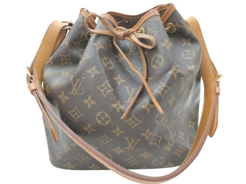 Louis Vuitton Monogram Petit Noe Drawsting Bucket Hobo Bag 862301
