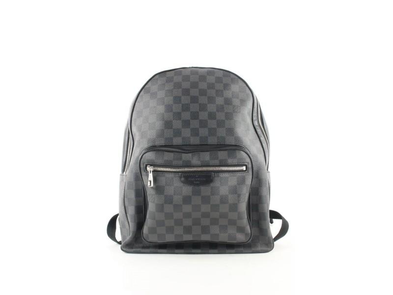 Louis Vuitton Damier Graphite Josh Backpack 496lvs3
