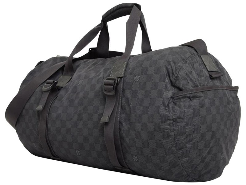 Louis Vuitton Damier Graphite Practical Keepall Bandouliere Duffle 231504