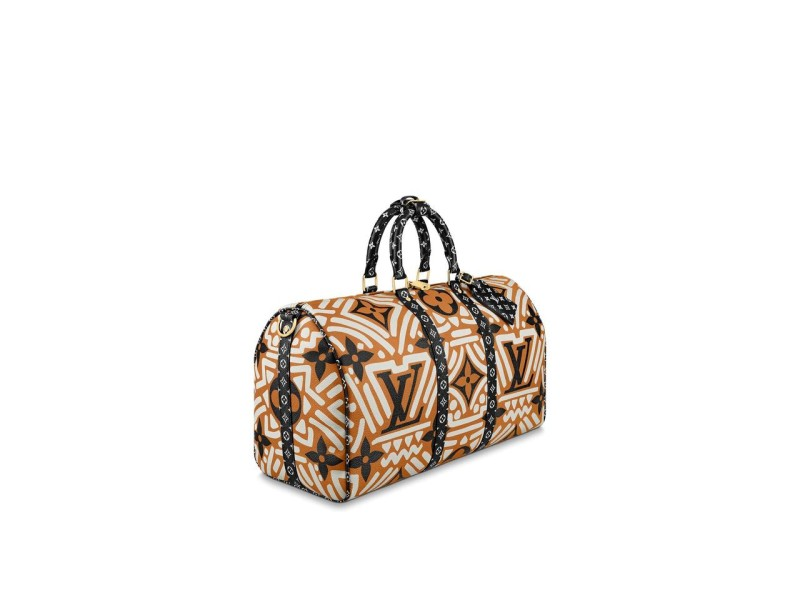 Louis Vuitton Rare Limited Crafty Keepall Bandouliere 45 Strap Duffle Giants 5LVA88