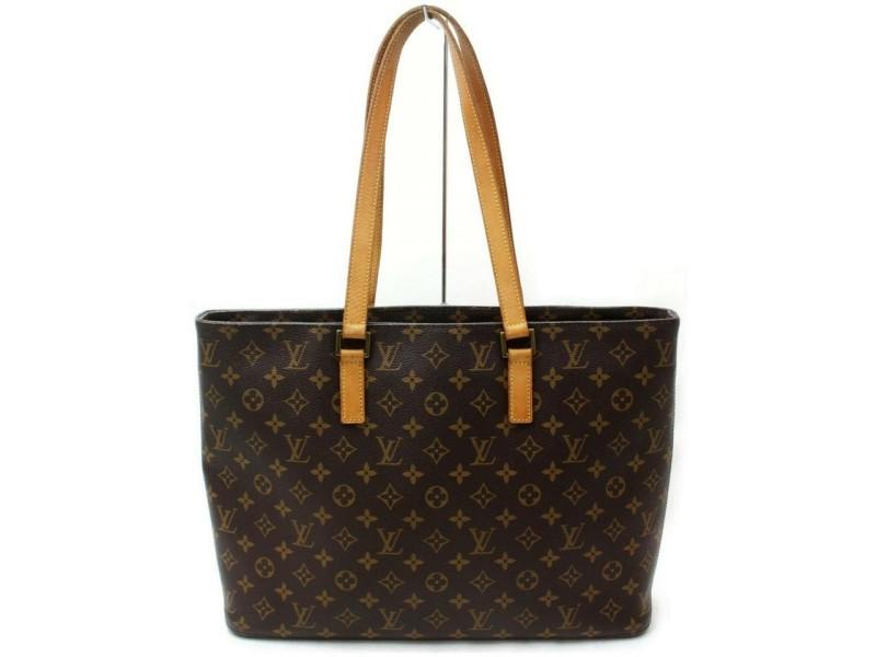 Louis Vuitton Monogram Luco Zip Tote 860941
