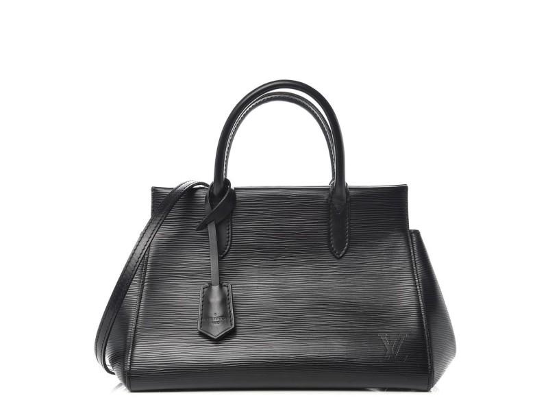 Louis Vuitton Black Epi Leather Noir Marly BB with Strap 860542