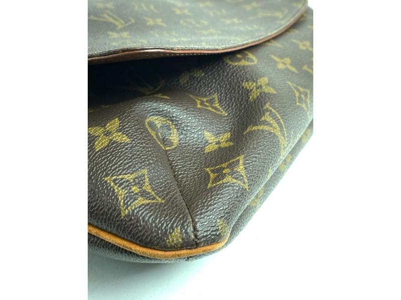 Louis Vuitton Messenger Musette Salsa Monogram Gm Flap 18lv611 Brown Coated Canvas Cross Body Bag