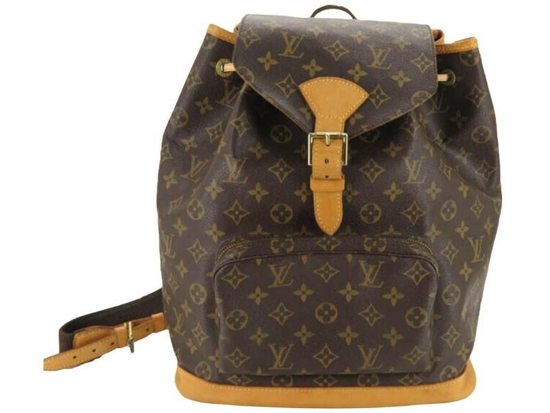 Louis Vuitton Large Monogram Montsouris GM Backpack 861799
