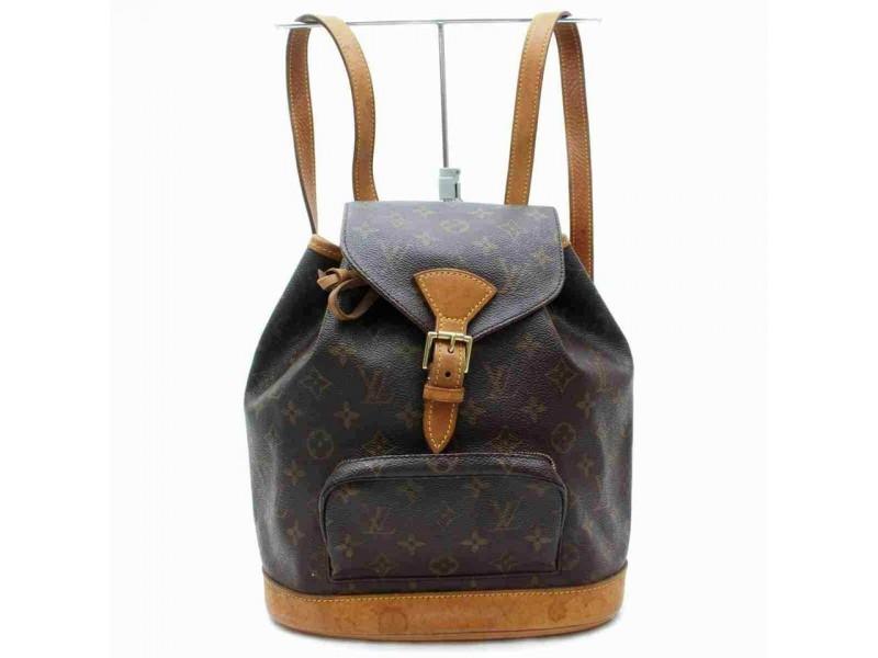 Louis Vuitton Monogram Montsouris MM Mini Backpack 860806