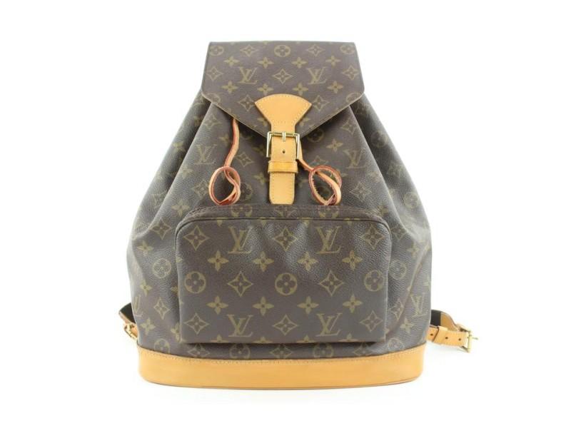 Louis Vuitton Monogram Montsouris GM Backpack 670lvs318