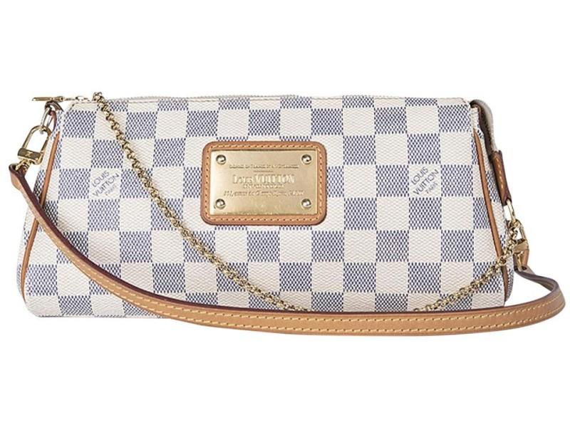 Louis Vuitton Damier Azur Pochette Eva Crossbody 860880