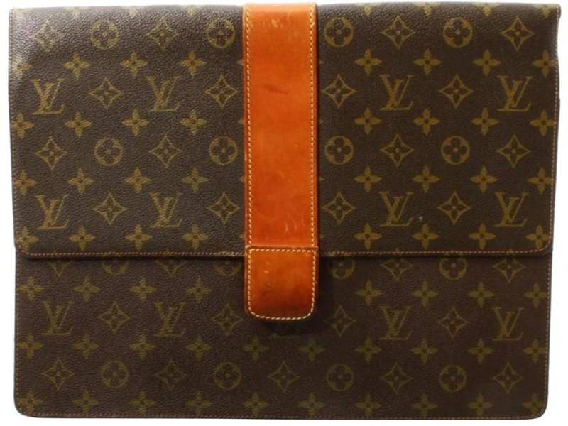 Louis Vuitton Monogram Lena Porte Documents Envelope Briefcase  861923