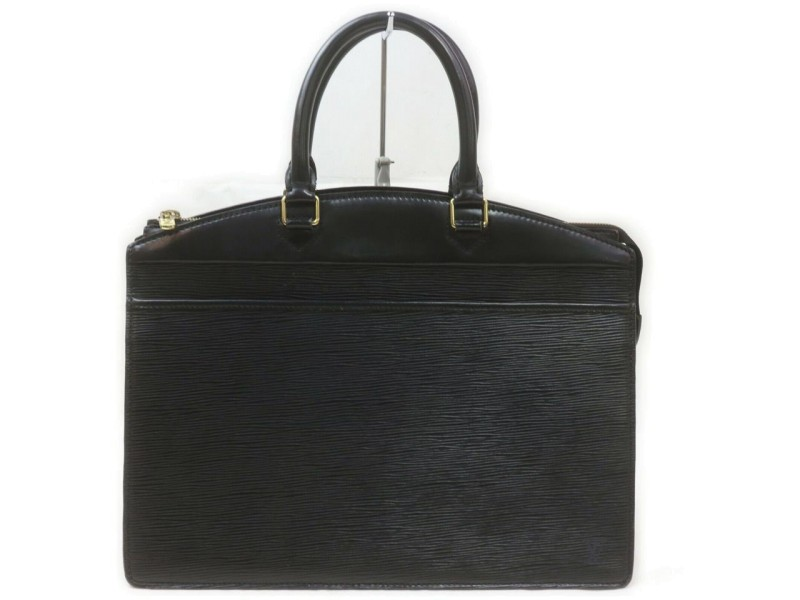 Louis Vuitton Black Epi Leather Noir Riviera Vanity Tote Bag 862470