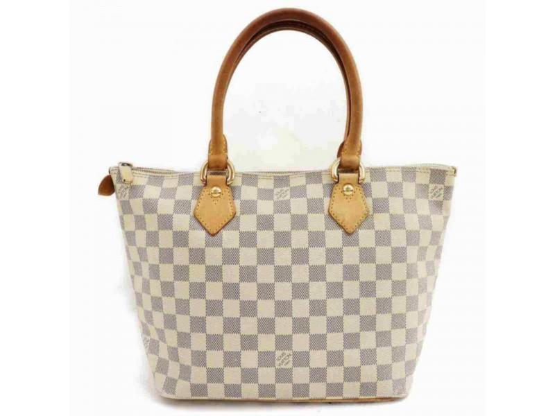 Louis Vuitton Damier Azur Saleya PM Zip Tote 860058
