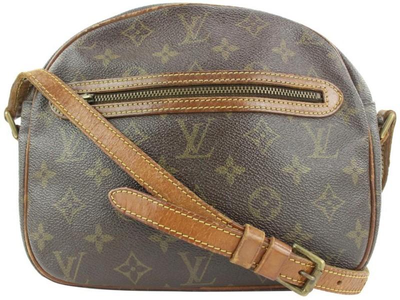 Louis Vuitton Ultra Rare Monogram Senlis Crossbody Bag 10lvs113