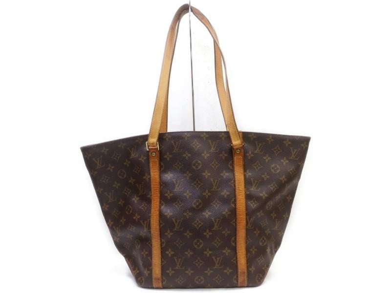 Louis Vuitton Monogram Sac Shopping Tote Bag 862726