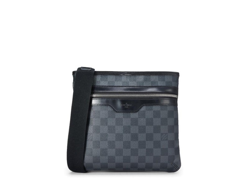 Louis Vuitton Shoulder Thomas Grays Damier Graphite 872903 Black Coated Canvas Cross Body Bag