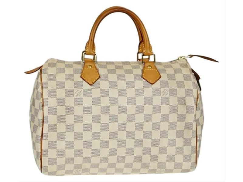 Louis Vuitton Damier Azur Speedy 30 Boston MM 60857