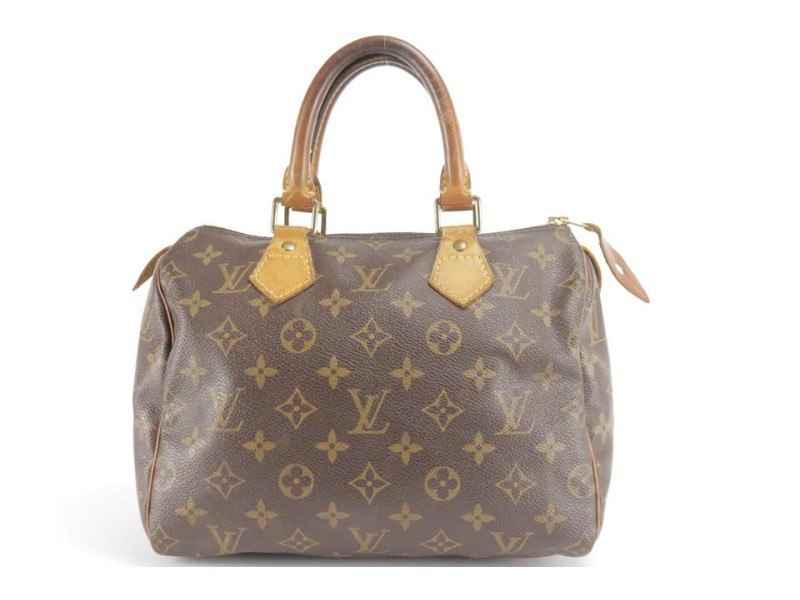 Louis Vuitton Monogram Speedy 25 4LK1207