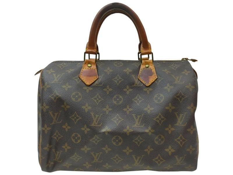 Louis Vuitton Monogram Speedy 30 Boston MM Bag 861993
