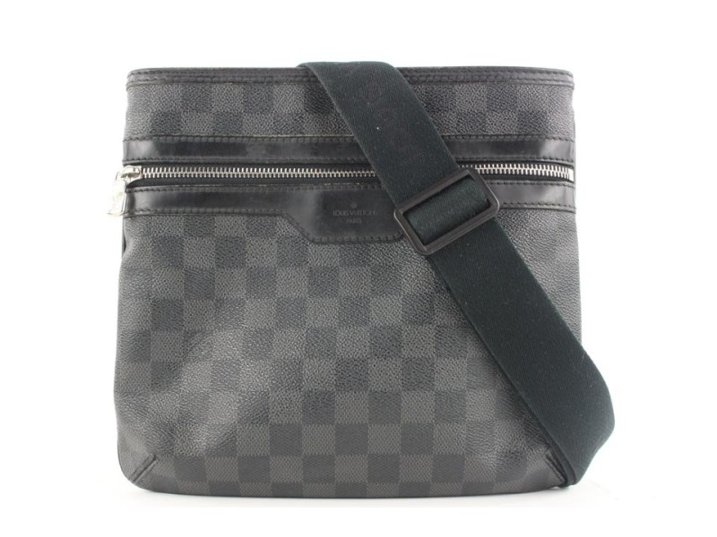 Louis Vuitton Damier Graphite Thomas Crossbody Messenger Bag 594lvs315