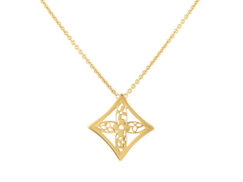 Louis vuitton idylle blossom 18k yellow gold pendant necklace louis vuitton idylle blossom 18k yellow gold pendant necklace aloadofball Gallery