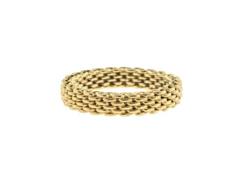 Tiffany & Co. 18k Yellow Gold Somerset Ring