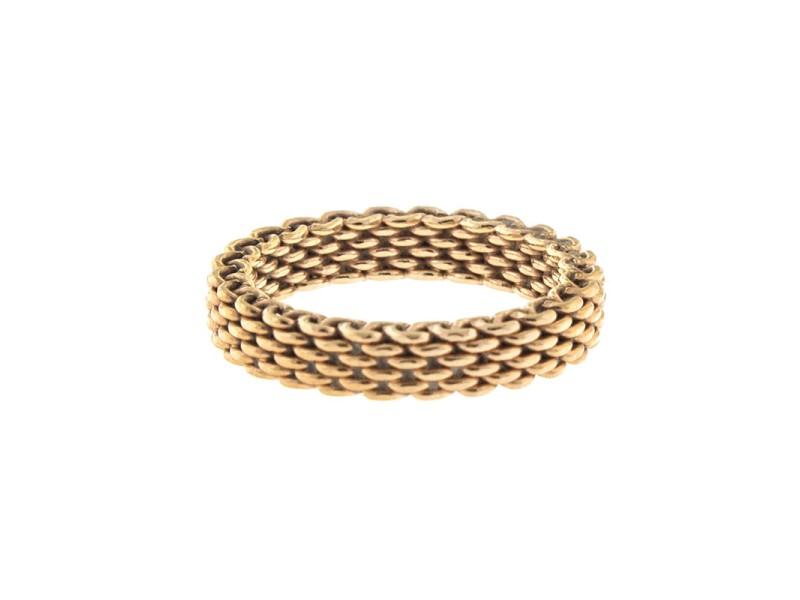 Tiffany & Co. 18k Rose Gold Somerset Ring