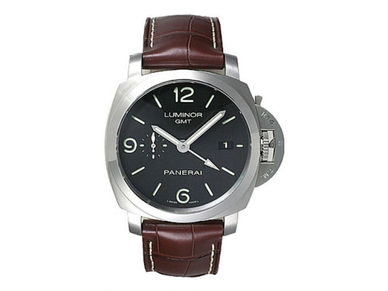 Panerai Luminor PAM00320 Stainless Steel / Leather Automatic 44mm Mens Watch