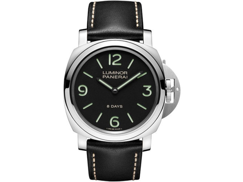 Panerai Luminor PAM00560 Stainless Steel / Leather 44 mm Mens Watch