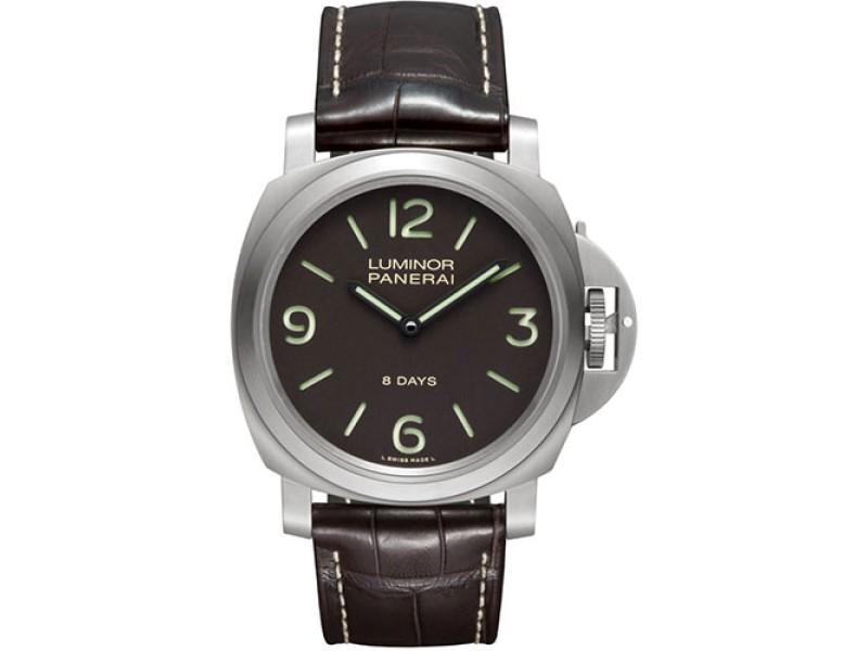 Panerai Luminor PAM00562 Titanium / Leather 44mm Mens Watch