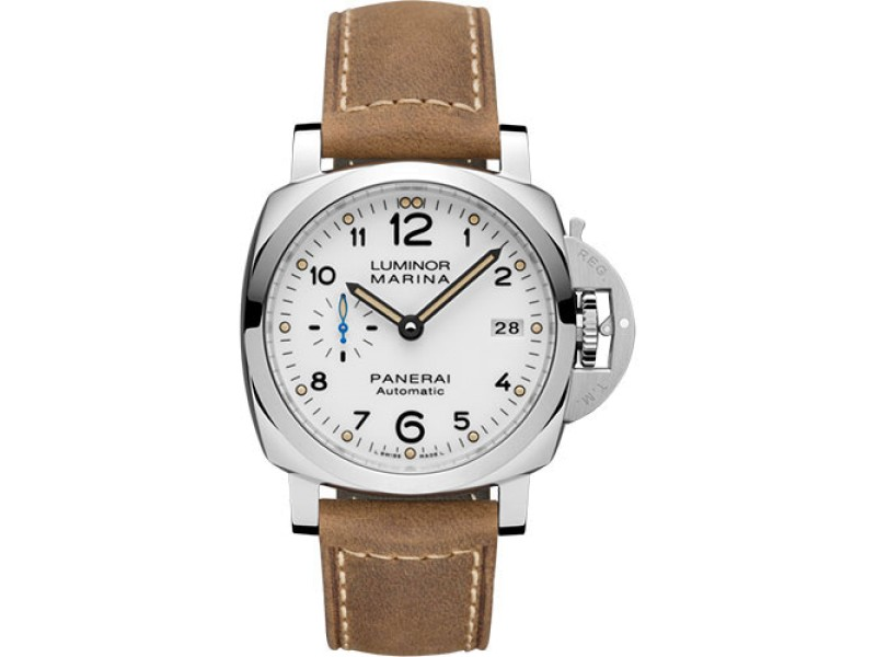 Panerai Luminor Marina PAM01523 Stainless Steel with White Dial Automatic 42mm Mens Watch