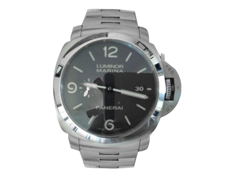 Panerai Luminor Marina PAM 00328 Stainless Steel 44mm Mens Watch