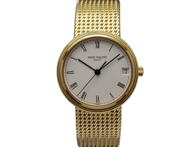 Patek Philippe 18k Yellow Gold Calatrava Watch