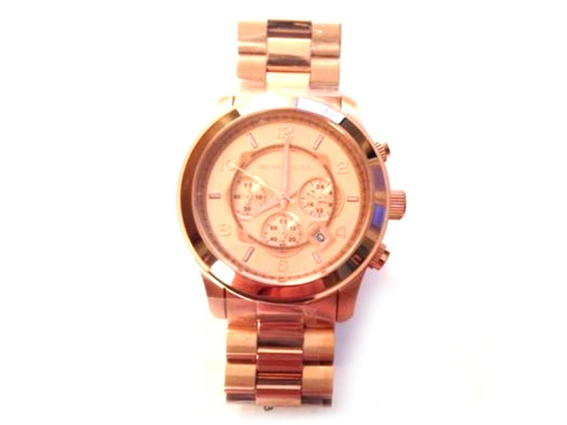 Michael KORS Unisex Runway Chrone 46mm Watch