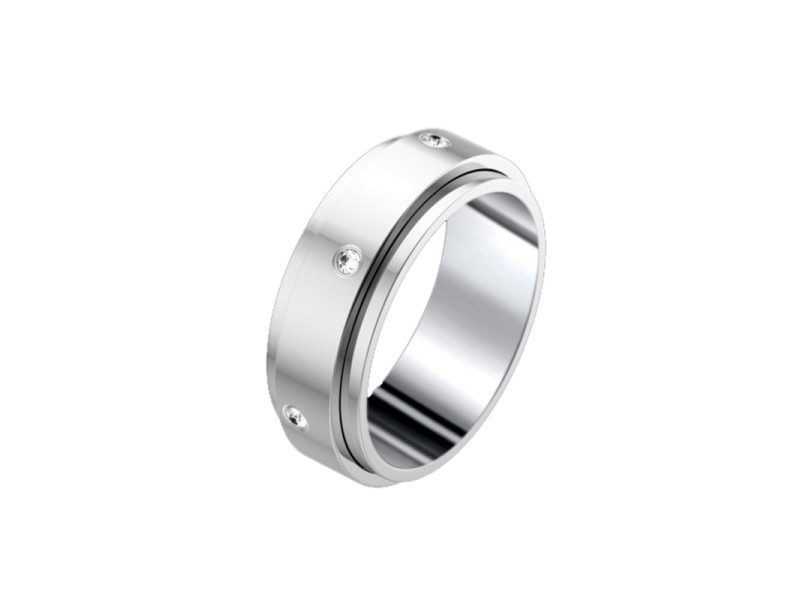 Piaget 18K White Gold Possession Band Ring