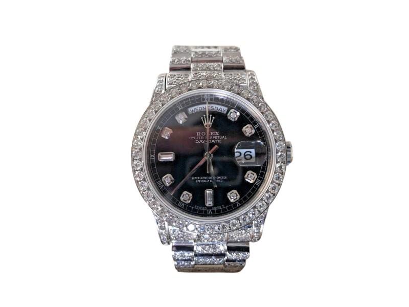 Rolex Day-Date President 18093 36mm Unisex Watch