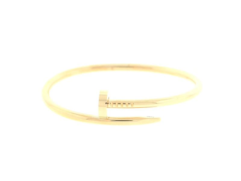 Cartier Juste Un Clou Bracelet Yellow Gold Size 19