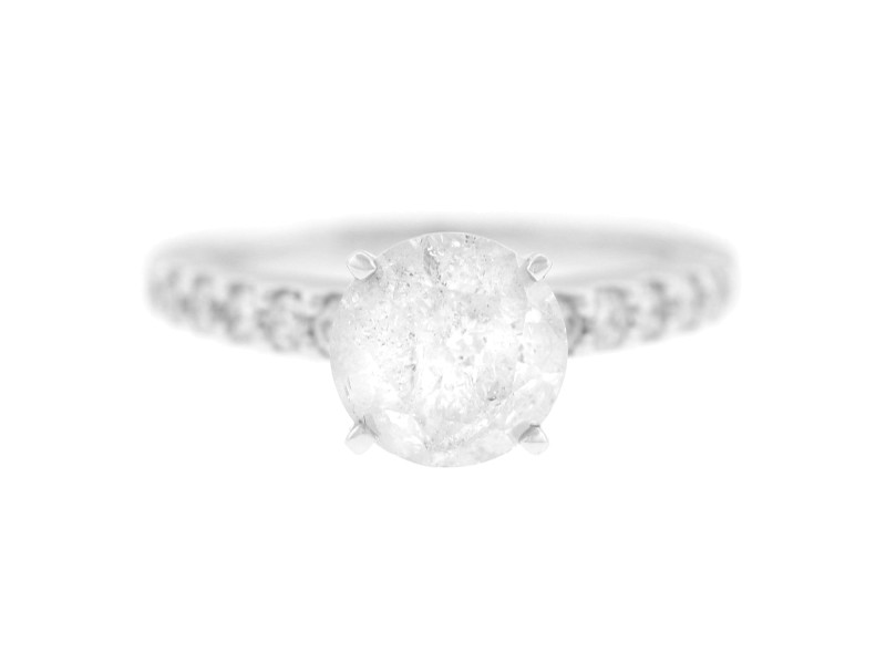 Szul 2.20ct Diamond 14K White Gold EGL Certified Engagment Ring