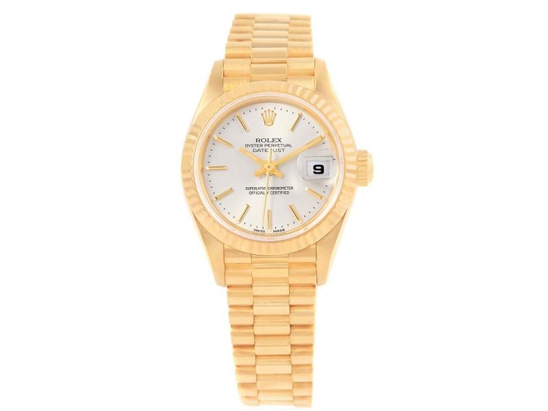 Rolex President Datejust 79178 18k Yellow Gold 26mm Automatic Women Watch
