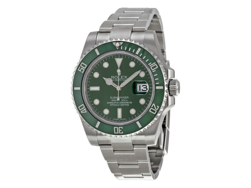 Rolex Submariner 116610LV Green Dial Steel Watch