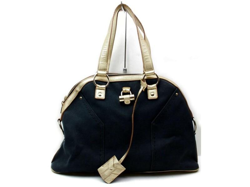Saint Laurent Muse Gold Dome Bag 872390