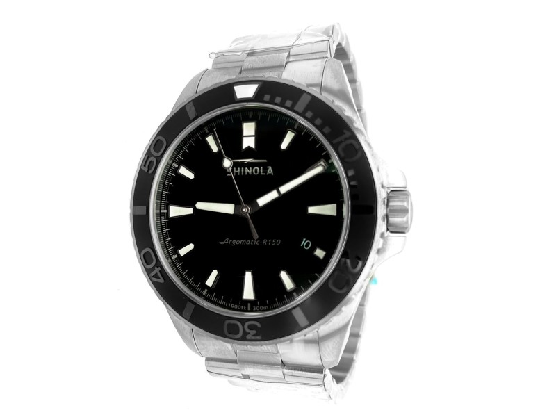 Shinola Lake Erie Monster Limited Edition 43mm Dive Watch