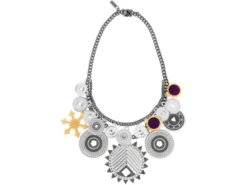 Eddie Borgo Tricolor Challenge Necklace